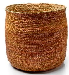 These beautiful baskets are hand-woven by women living near Iringa, Tanzania