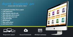 Digital Download Pro allows you to quickly set up online store for digital downloadable goods. With integrated PayPal,...