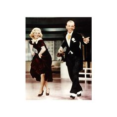 Tumblr ❤ liked on Polyvore featuring people, fred astaire and ginger rogers