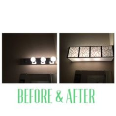 Vanity Light Refresh Kit Vanity Light Refresh Kit $38 Lowes  Apartments  Pinterest