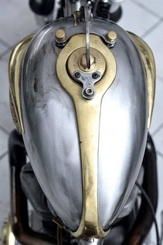 The Art of the Motorcycle Tank
