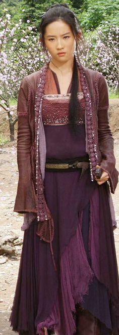 Fantasy Gypsy Adventurous Maiden Garb - Sparrow from Forbidden Kingdom.