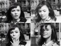 french new wave actress anna karina