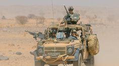 Les forces spéciales françaises d'un «détachement de liaison».