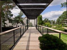 steel elevated walkways - Google Search