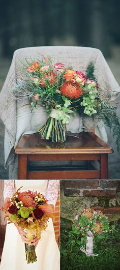 Decadent Autumn Wedding Flowers You're Going To Love