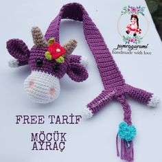 Yaşamak bir ağaç gibi tek ve hür ve bir orman gibi kardeşçesine, bu hasret bizim. Möcük kitap… Knitting ProjectsKnitting For KidsCrochet ProjectsCrochet Amigurumi Crochet Bookmark Pattern, Crochet Bookmarks, Crochet Books, Crochet Gifts, Crochet Baby, Free Crochet, Knit Crochet, Embroidery Stitches, Embroidery Patterns