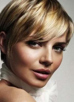 short haircuts styles-maybe even shorter in the back? Cuts for Cancer 2013