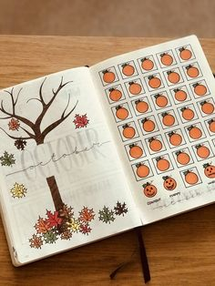 Bullet journal octobercrafts October title page and mood tracker Bullet Journal Daily, Bullet Journal Title Page, Bullet Journal Aesthetic, Bullet Journal School, Bullet Journal Ideas Pages, Bullet Journal Spread, Bullet Journal Mood Tracker Ideas, Bullet Journal Collections, Bellet Journal
