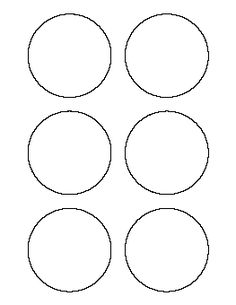 1000 images about templates on pinterest circle pattern for 9 inch circle template