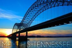 The 5 Most Obese Cities in the United States: Memphis, Tennessee Best Places To Travel, Oh The Places You'll Go, Places To Visit, Memphis City, Memphis Bridge, Downtown Memphis, Nashville, Memphis Tennessee, Visit Tennessee