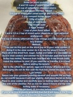 Slow cooker Christmas pudding Dried Oranges, Oranges And Lemons, Dried Fruit, Oreo Pudding Cake, Easy Recipes, Cooking Recipes, Christmas Pudding, Puddings, Quick Easy Meals
