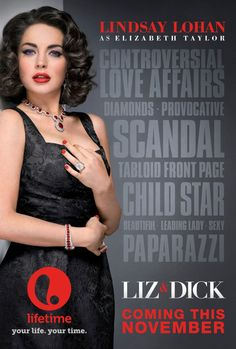 movie about Elizabeth Taylor and Richard Burton starring Lindsay Lohan Lifetime