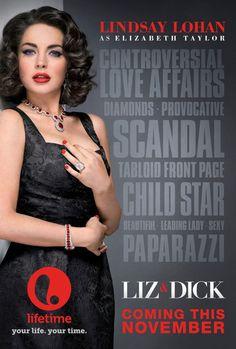 movie about Elizabeth Taylor and Richard Burton starring Lindsay Lohan Lifetime