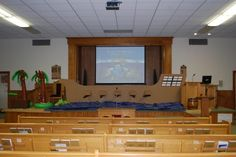 VBS decorations 2012 - The Treasure of the Forgotten Island