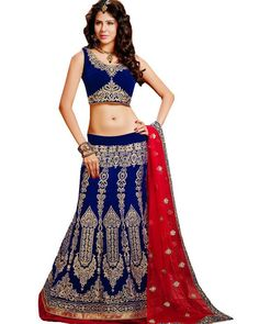Stylish #Lehengas that are meant to turn heads for you. Flaunt your attitude on that special occasion with Stylish #Lehenga collection on Ethnic Station.