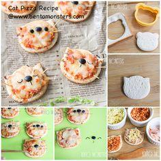 Cat pizza - Bento Monsters