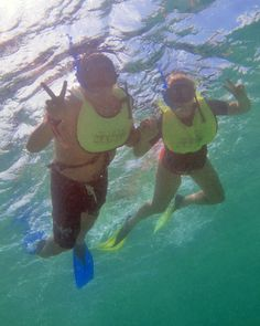 Snorkeling in Akumal, great place to find sea turtles! Aventuras Mayas includes the snorkel in a few of their tours!