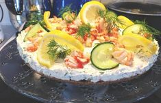 Gelatin, Fresh Rolls, Seafood, Cheesecake, Fish, Ethnic Recipes, Sea Food, Jello, Cheesecakes
