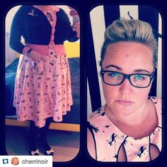 #Repost @cherrinoir - Thank you for sharing your #IAmSimplyBeautiful selfie and supporting the movement to empower women to love their bodies regardless of size shape age or skin color. Keep spreading the word and changing lives!  http://ift.tt/1jfhohF  #ootd #ootdsocialclub #outfitoftheday #teacher #historyteacher #retro #rockabilly #rockabellas #rockabillygirl  #voodoovixen #lolaramona #prettyinpink #curve #curves #plussize #plussizemodel #plussizepinup #effyourbeautystandards…