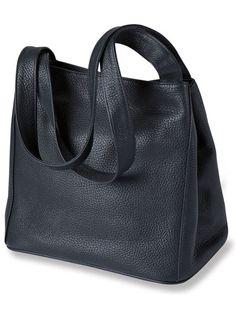 Kensington London - Tasche aus geprägtem Vollrindleder (28cm * 25cm * 16cm)