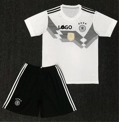 1960b59a08b A Qualtiy Adult Germany Soccer Jersey Uniforms Man Trainning Sport  Tracksuit Top+Short National Team