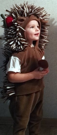 Hedgehog costume/Toddler Costume/ Kids Costume/hedgehog by Divendi