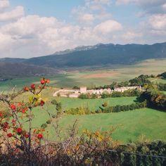 View from #Pescocostanzo #Abruzzo #Italy