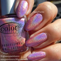 Sassy Paints: Miss Bliss from the Color Club Holo Hues *Spring 2013* Collection