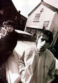 Oasis. Noel & Liam Gallagher. Manchester. Uk.