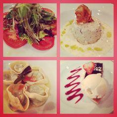Dinner @Toscana - Oceania Cruises http://www.amyriolo.com       http://www.altiramisu.com/about-the-chef/ #twochefsculinarycruise