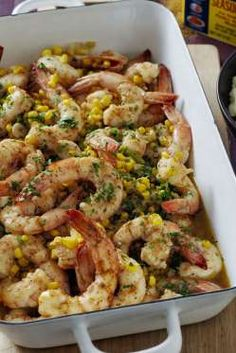 Who says shrimp scampi requires pasta? Flavored with zesty Old Bay, this shrimp dish will leave you ... - Chris Court