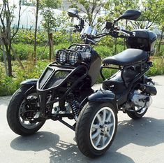 50cc Three Wheel Ruckus Style Trike Scooter Moped Trike Scooter