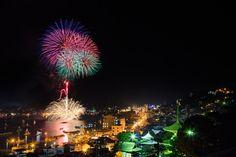 尾道住吉花火 Sumiyoshi Fireworks in Onomichi by Daisuke Tsuchiya on 500px