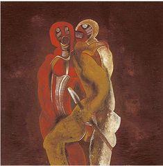 'Mbopa atabs Shaka' by South African artist Cecil Skotnes via the artist's site South African Artists, Global Art, Consideration, Figurative Art, Printmaking, Surrealism, Beast, Southern, Paintings