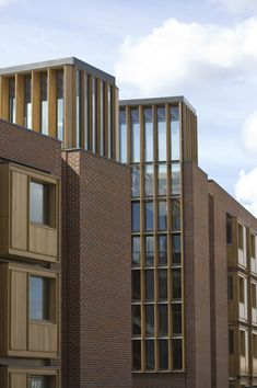 Níall McLaughlin Architects, Somerville College, Oxford