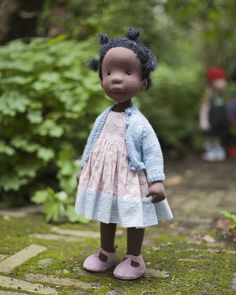 cloth doll Sade :: Aldegonde Ceelen Online Shop