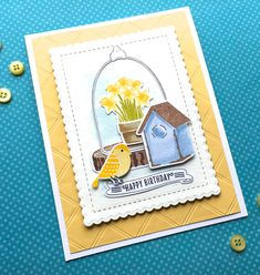 Image result for card with Cloche Quarters