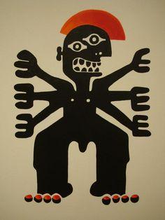 The Greek Monsters by Beetroot design + partners (Μουσείο Μπενάκη / Απρίλιος - Ιούλιος 2012)