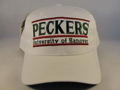 51de5671222 NCAA Hanover Peckers Vintage Snapback Hat Cap The Game  TheGame  Vintage   HanoverPeckers Funny