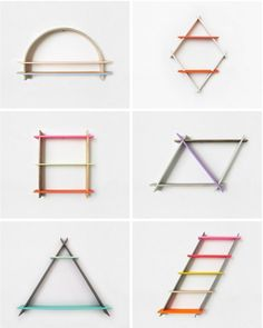 Chiaozza Geometrical Shelving