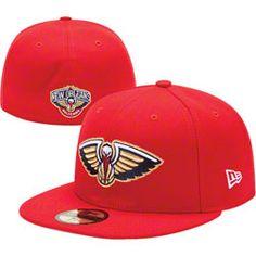 3fce552dc89902 New Era 59fifty, New Orleans Pelicans, Scarlet, Snapback, Snapback Hats,  Snapback Cap, Baseball Hat