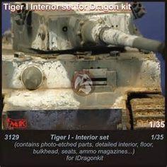 CMK 1 35 German Tiger I Tank Interior ...