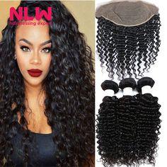 8A-Lace-frontal-With-Bundles-Italian-Kinky-Yaki-Brazilian-Virgin-Hair-Weaves