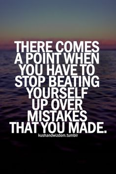 Absolutely - how else can you move forward?  The past can't be changed.  We can only learn and grow from it.