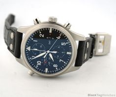 IWC Pilot's Watch Double Chronograph Automatic Mens Watch IW377801  #IWC #LuxuryDressStyles