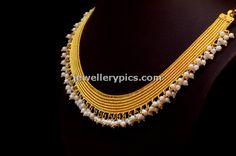 Kasava mala designs by Bhima jewellers ~ Gold Jewellery Designs