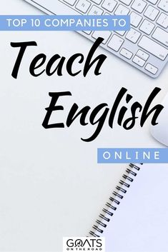Wondering how to make money from the comfort of your home? Check out these top 10 companies to teach English online from anywhere in the world! Let us help you find the career that fits you! | #onlineteaching #traveljobs #esl Travel Jobs, Travel Advice, Traveling Teacher, Teaching English Online, Teaching Jobs, Esl, Goats, How To Make Money, Career