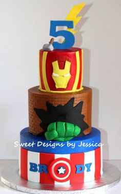 Brody's Avenger cake