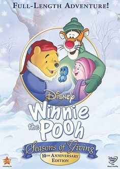Pin for Later: Watch This! 5 Thanksgiving Movies the Whole Family Will Enjoy Winnie the Pooh Seasons of Giving